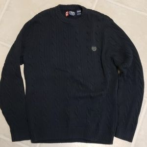 Mens small chaps navy blue sweater